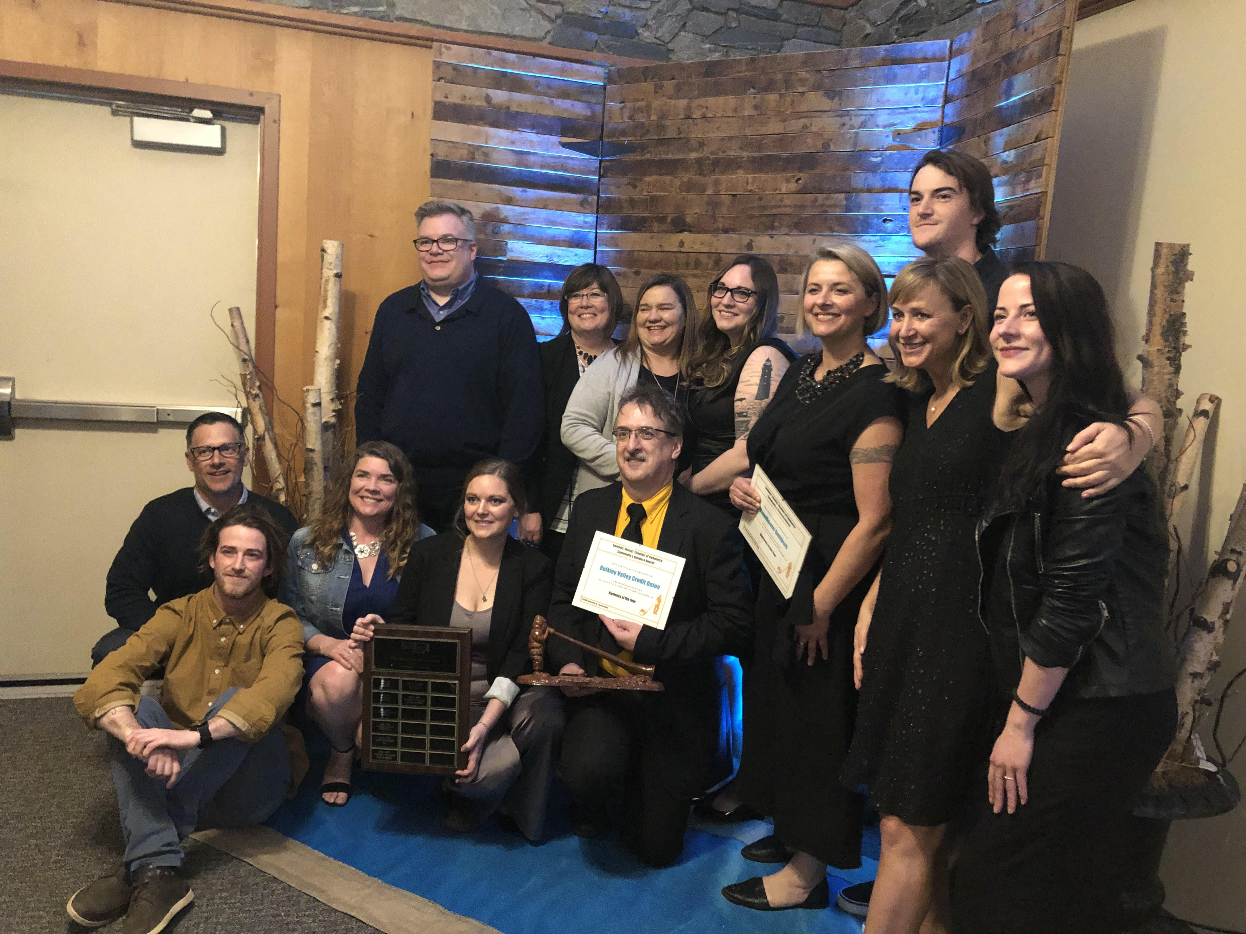 Local businesses fill Hudson Bay Lodge for 2019 Community & Business Excellence awards - My Bulkley Lakes Now